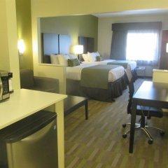 Отель Comfort Suites Hilliard Хиллиард удобства в номере