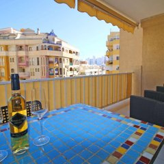 Отель Apartamentos Apolo VII балкон