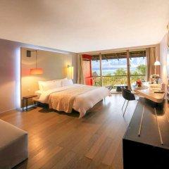 Отель Tahiti Ia Ora Beach Resort - Managed by Sofitel Французская Полинезия, Пунаауиа - отзывы, цены и фото номеров - забронировать отель Tahiti Ia Ora Beach Resort - Managed by Sofitel онлайн комната для гостей фото 5
