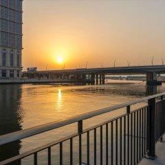 Отель Hilton Dubai Al Habtoor City пляж