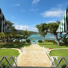 Round Hill Hotel & Villas пляж фото 2