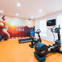 TRYP Coruña Hotel фитнесс-зал фото 2