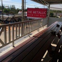 The Metallic Hostel Ланта балкон