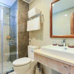Отель Hoang Lan Hotel Вьетнам, Хошимин - отзывы, цены и фото номеров - забронировать отель Hoang Lan Hotel онлайн ванная фото 2