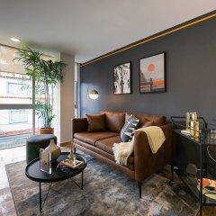Апартаменты Beautiful Studio in Hipodromo Condesa Мехико комната для гостей