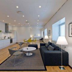 Отель Europahuset Apartments Дания, Копенгаген - отзывы, цены и фото номеров - забронировать отель Europahuset Apartments онлайн комната для гостей фото 2