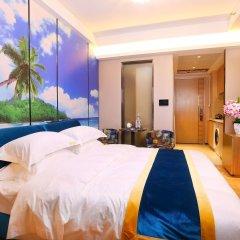 Апартаменты Guangzhou Chimelong Heefun International Service Apartment Гуанчжоу комната для гостей