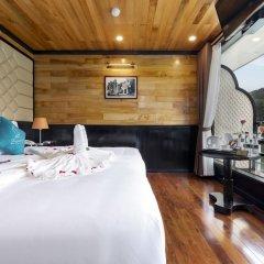 Отель Halong Serenity Cruise Вьетнам, Халонг - отзывы, цены и фото номеров - забронировать отель Halong Serenity Cruise онлайн комната для гостей фото 4