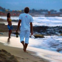 Malia Bay Beach Hotel & Bungalows пляж