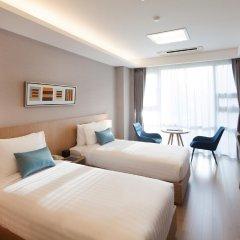Отель Fraser Place Central Seoul Южная Корея, Сеул - отзывы, цены и фото номеров - забронировать отель Fraser Place Central Seoul онлайн комната для гостей