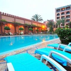 Отель Diwane & Spa Марокко, Марракеш - отзывы, цены и фото номеров - забронировать отель Diwane & Spa онлайн бассейн фото 2
