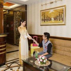 Отель Hoang Dung Hotel – Hong Vina Вьетнам, Хошимин - отзывы, цены и фото номеров - забронировать отель Hoang Dung Hotel – Hong Vina онлайн интерьер отеля фото 2