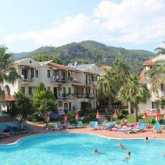 Mavi Belce Hotel Турция, Олюдениз - 1 отзыв об отеле, цены и фото номеров - забронировать отель Mavi Belce Hotel онлайн бассейн фото 2