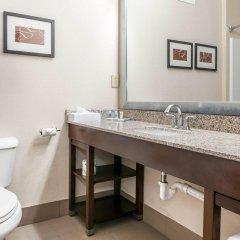 Отель Comfort Suites Columbus США, Колумбус - отзывы, цены и фото номеров - забронировать отель Comfort Suites Columbus онлайн ванная