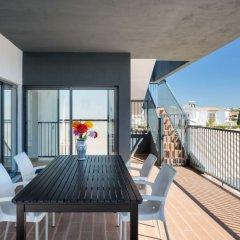 Отель Estrela do Mar Praia da Galé балкон