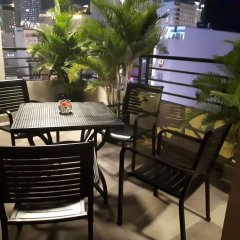 Maple Leaf Hotel & Apartment Нячанг балкон