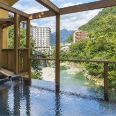 Hotel Shirakawa Yunokura Никко бассейн фото 3