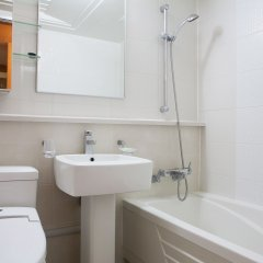 Отель Welli Hilli Park Южная Корея, Пхёнчан - отзывы, цены и фото номеров - забронировать отель Welli Hilli Park онлайн ванная