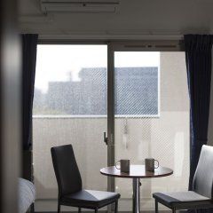 Отель Residence Hakata 9 Фукуока балкон