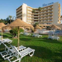 Hotel Royal Costa пляж