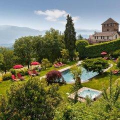 Schloss Hotel Korb Аппиано-сулла-Страда-дель-Вино бассейн