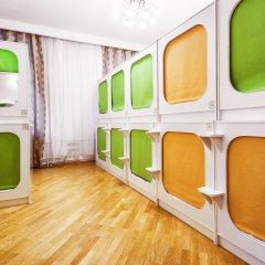 Capsule Hostel In Moscow сейф в номере
