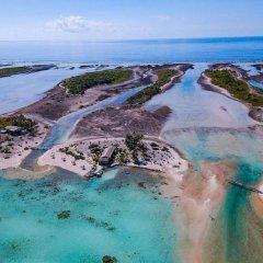 Отель Hakamanu Lodge Французская Полинезия, Тикехау - отзывы, цены и фото номеров - забронировать отель Hakamanu Lodge онлайн бассейн