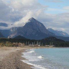 Отель Erendiz Kemer Resort пляж