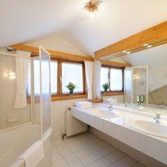 Отель Naturhotel Alpenrose Австрия, Мильстат - отзывы, цены и фото номеров - забронировать отель Naturhotel Alpenrose онлайн ванная
