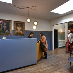 Отель Monsieur Ernest Бельгия, Брюгге - отзывы, цены и фото номеров - забронировать отель Monsieur Ernest онлайн интерьер отеля