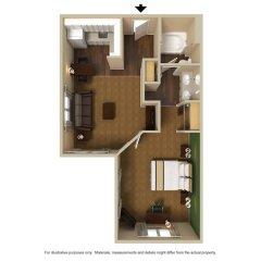 Отель Extended Stay America Fort Lauderdale - Cypress Creek Prk N балкон