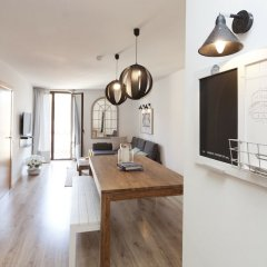 Апартаменты Happy Apartments Barcelona комната для гостей фото 18