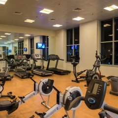 Oaks Liwa Heights Hotel Apartments фитнесс-зал фото 3