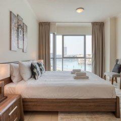 Отель Premium Apt - Full Burj Khalifa & Fountain View! Дубай комната для гостей