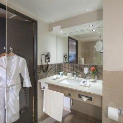 Отель Dorint Airport-Hotel Zürich Швейцария, Глаттбруг - отзывы, цены и фото номеров - забронировать отель Dorint Airport-Hotel Zürich онлайн ванная