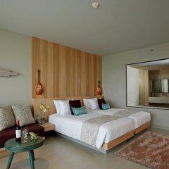 Отель Kalima Resort & Spa, Phuket 5* Семейный номер с видом на море с различными типами кроватей фото 4