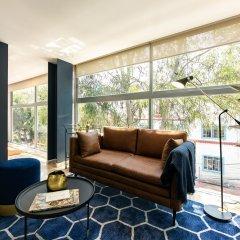Апартаменты Comfortable Studio Near La Condesa Мехико комната для гостей