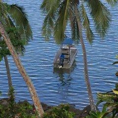 Отель Island Breeze Fiji Савусаву приотельная территория
