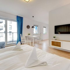Отель Apartinfo Chmielna Park Apartments Польша, Гданьск - отзывы, цены и фото номеров - забронировать отель Apartinfo Chmielna Park Apartments онлайн комната для гостей фото 4