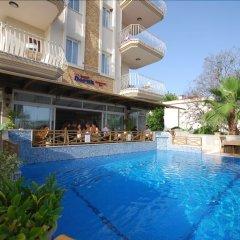 Doruk Турция, Фетхие - отзывы, цены и фото номеров - забронировать отель Doruk онлайн бассейн фото 3