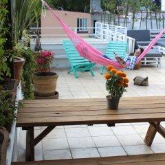 Отель Hostal Mx Coyoacan Мехико бассейн
