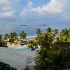 Отель Fontan Ixtapa Beach Resort пляж