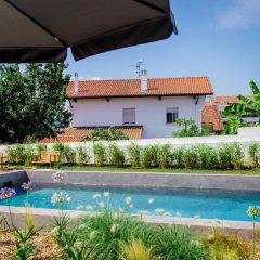 Отель Restaurant Santiago Франция, Хендее - отзывы, цены и фото номеров - забронировать отель Restaurant Santiago онлайн бассейн