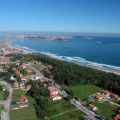 Отель Torres de Somo Испания, Рибамонтан-аль-Мар - отзывы, цены и фото номеров - забронировать отель Torres de Somo онлайн пляж фото 2