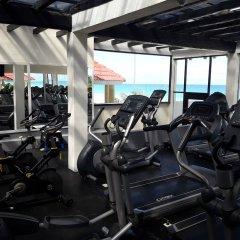 Отель Now Emerald Cancun (ex.Grand Oasis Sens) Мексика, Канкун - отзывы, цены и фото номеров - забронировать отель Now Emerald Cancun (ex.Grand Oasis Sens) онлайн фитнесс-зал фото 2