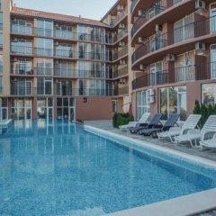 Отель Sunny Beach South Apartments Болгария, Солнечный берег - отзывы, цены и фото номеров - забронировать отель Sunny Beach South Apartments онлайн бассейн фото 3