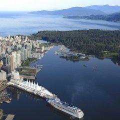 Отель Pan Pacific Vancouver Канада, Ванкувер - отзывы, цены и фото номеров - забронировать отель Pan Pacific Vancouver онлайн приотельная территория фото 2