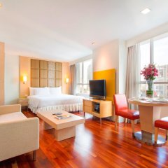 Отель Urbana Langsuan Bangkok, Thailand Таиланд, Бангкок - 1 отзыв об отеле, цены и фото номеров - забронировать отель Urbana Langsuan Bangkok, Thailand онлайн комната для гостей фото 4