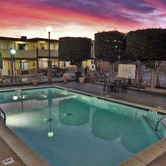 Отель Hollywood Inn Express South США, Лос-Анджелес - отзывы, цены и фото номеров - забронировать отель Hollywood Inn Express South онлайн бассейн фото 3