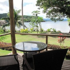 Отель Sau Bay Fiji Retreat - off Taveuni балкон